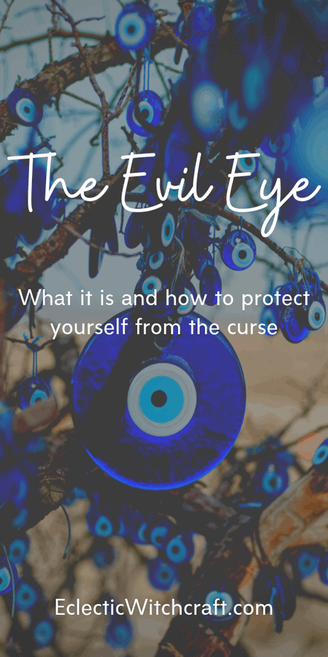 The Evil Eye: What It Is And How To Protect Yourself From This Ancient Curse. If you're considering getting an evil eye necklace, tattoo, or hamsa bracelet, this is a must read. Find out how to banish this curse with easy rituals and spells. Evil eye meaning and evil eye protection. Evil eye design, painting, quotes, prints, embroidery, pictures, symbols, protection, and more. Aesthetic hamsa hands. #evileye #hamsa #witch #curse