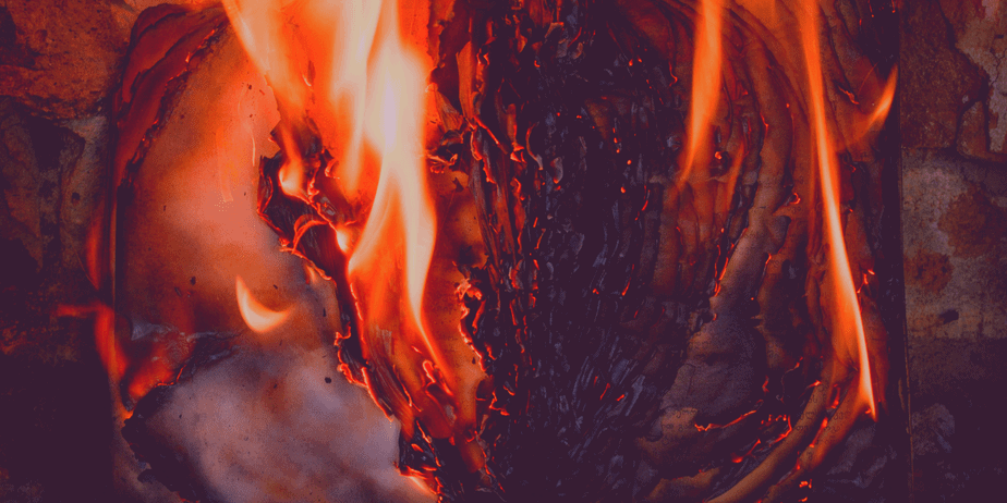 Decorative image of fire
