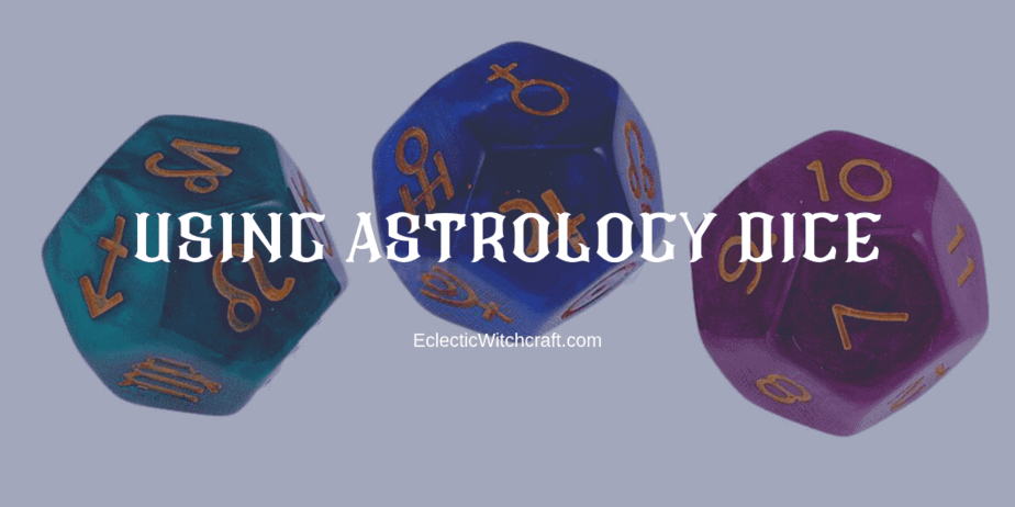 how to use astrology dice for divination
