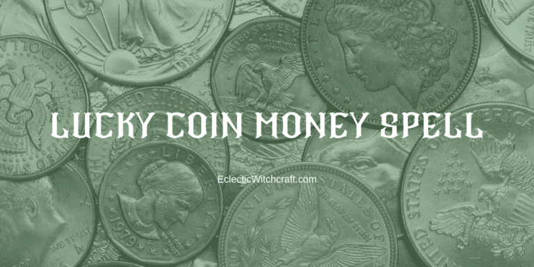 Lucky Coin Money Spell