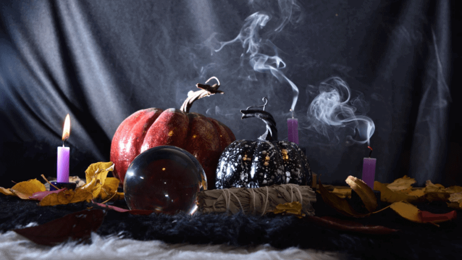 Decorative image of decor for Samhain