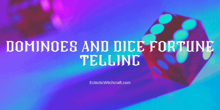 Telling Fortunes By Dominoes And Dice