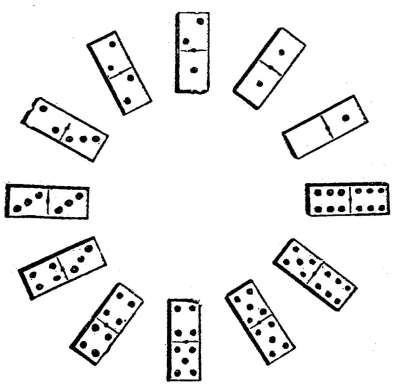 An illustration of dominoes