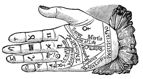 Decorative Image | The Beginner's Guide To Palmistry, Or Chiromancy | If you have ever wanted to learn more about palmistry, look no further. This will be your starter guide to the world of reading palms.