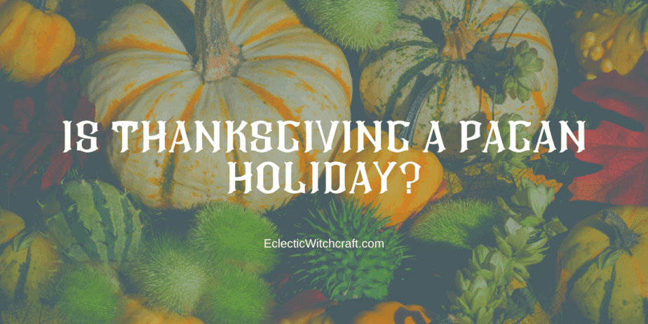 Decorative Image  |  Is Thanksgiving Pagan?  | There are many controversies surrounding the American holiday of Thanksgiving. From its racist and genocidal past, some find it hard to celebrate this holiday.