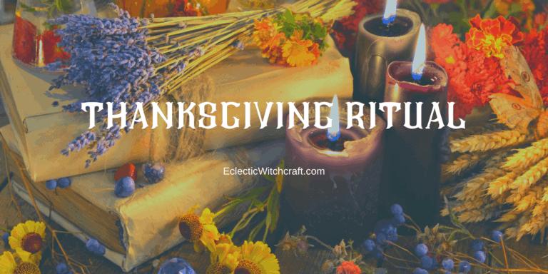 Pagan Thanksgiving Ritual