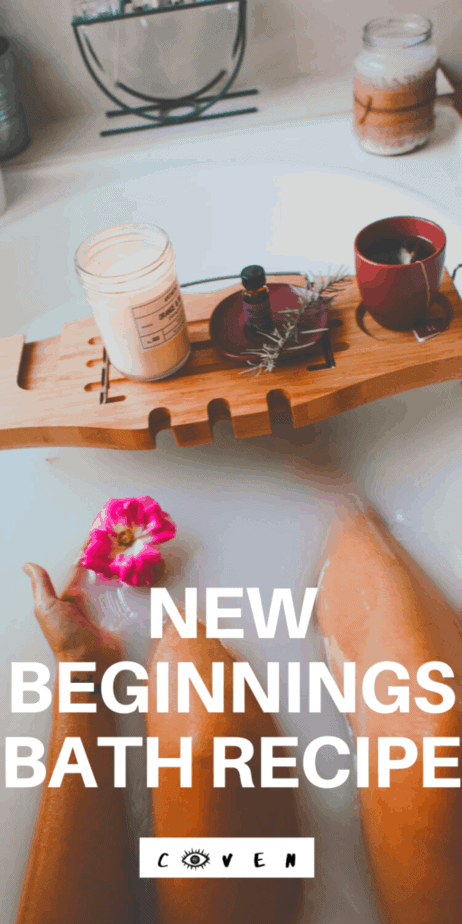 A spiritually refreshing new beginnings bath. Start 2020 with a spiritual refresh bath. New year pagan rituals. Wiccan spells. Herbalist magic. Magical correspondences of herbs. Green witch. Green witchcraft. Licorice root herbalism. Pine needles herbalism. Rosemary herbalism. Hawthorn herbalism. New years day traditions. #newyear #newyears #2020 #bath #herbalism #witch #witchcraft