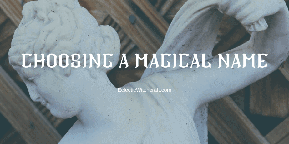 Beautiful Witch Names: Choosing A Magical Name