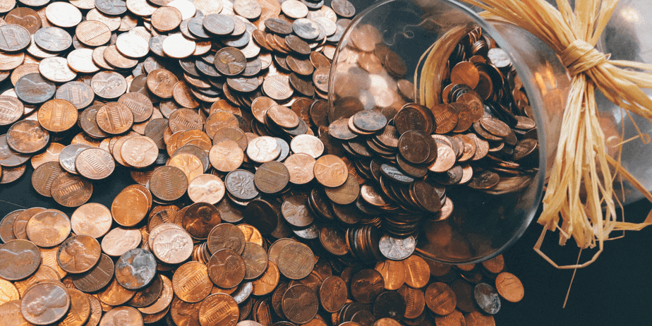 Coins for the frugal living header