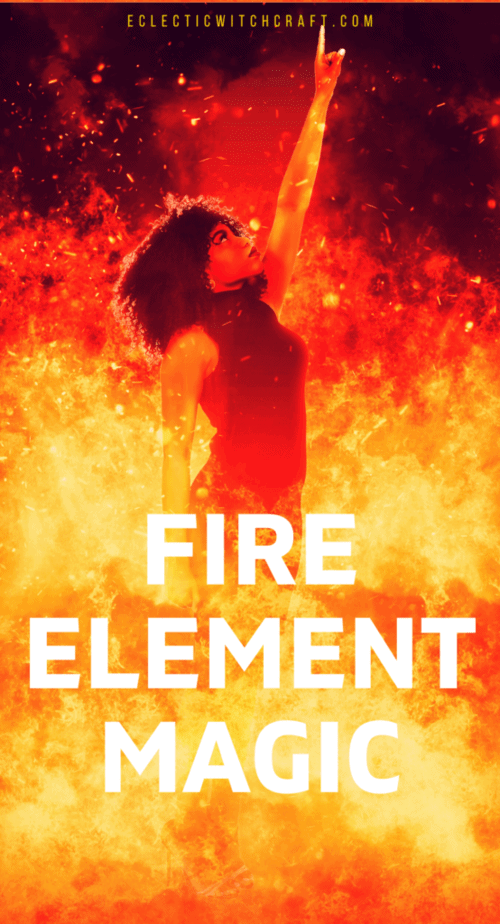 Fire element magick for witches #witch #witchcraft #pagan #wicca