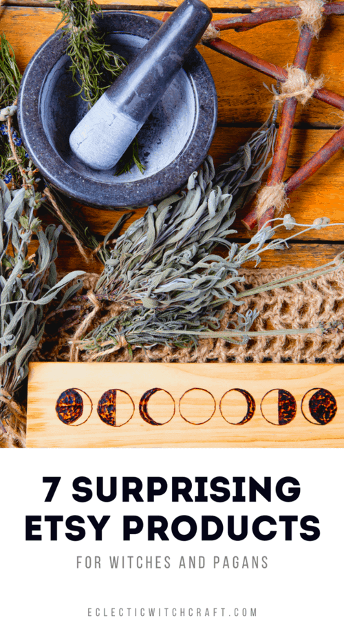 Witches love these surprising Etsy products! #witch #witchcraft #pagan #wicca