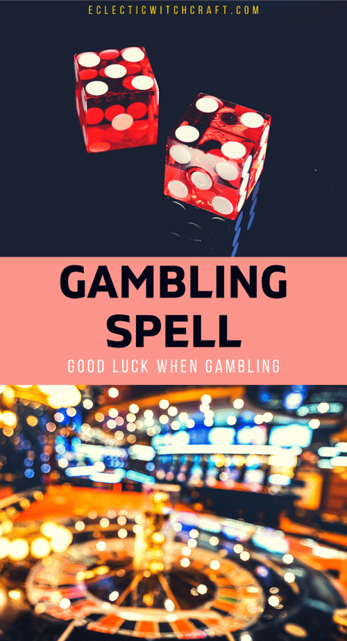 Is gambling on your vacation plans? Try this spell first to increase your chances of winning!  #witch #witchcraft #pagan #wicca