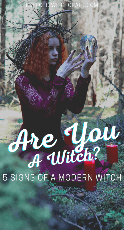 How to recognize a witch. Modern witches come in all shapes and sizes, but there are a few things that can tip you off. Signs of a witch. #witch #witchcraft #pagan #wicca