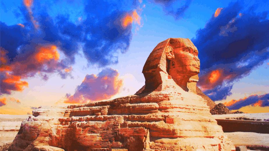 Decorative image of the Sphinx