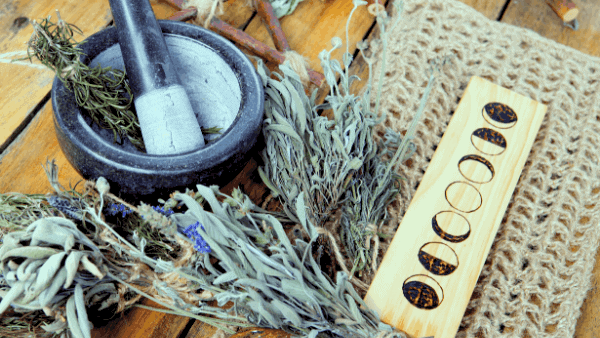 Decorative image of magical herbalism