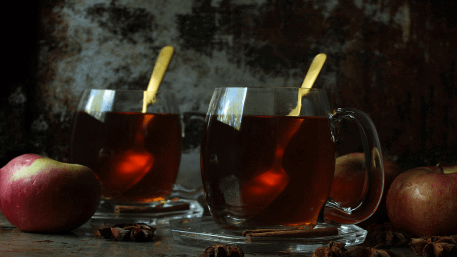 Decorative image of wassail yule traditions