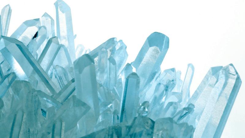 Aquamarine cluster