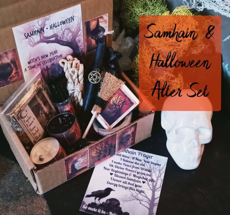 Candle Magick Samhain Box