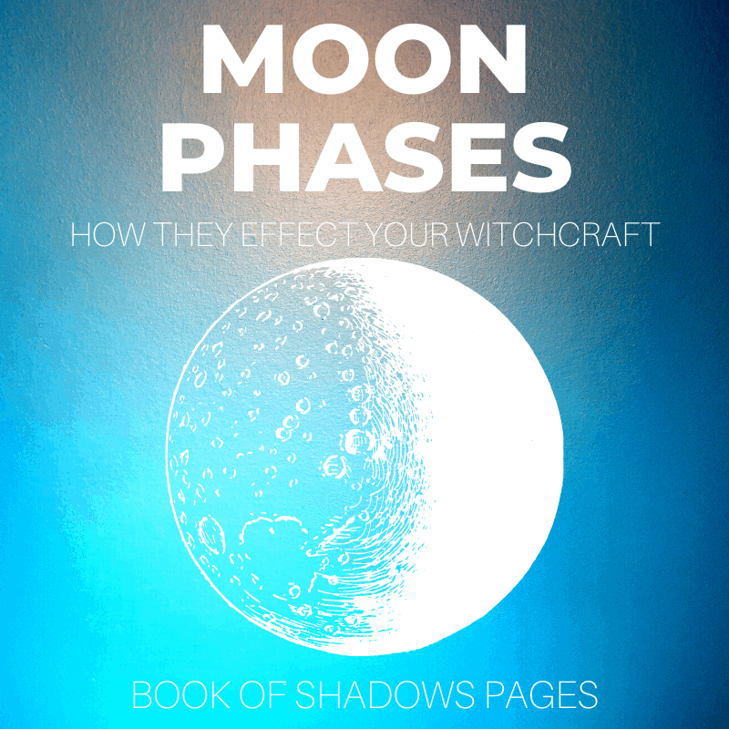 Moon Phases: The Monthly Flow Of Your Magick & Energy