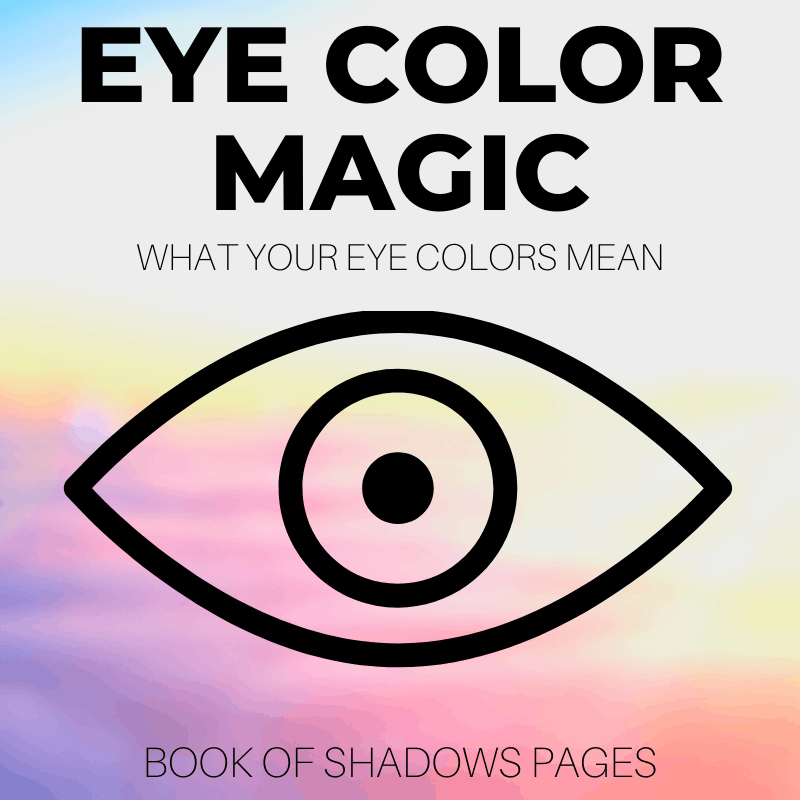 Eye Color Magic: 11 Astonishing, Innate Magical Witch Powers