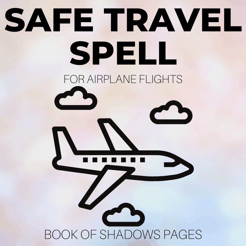 Air Spell: Safe Travel With 1 Simple Airplane Spell