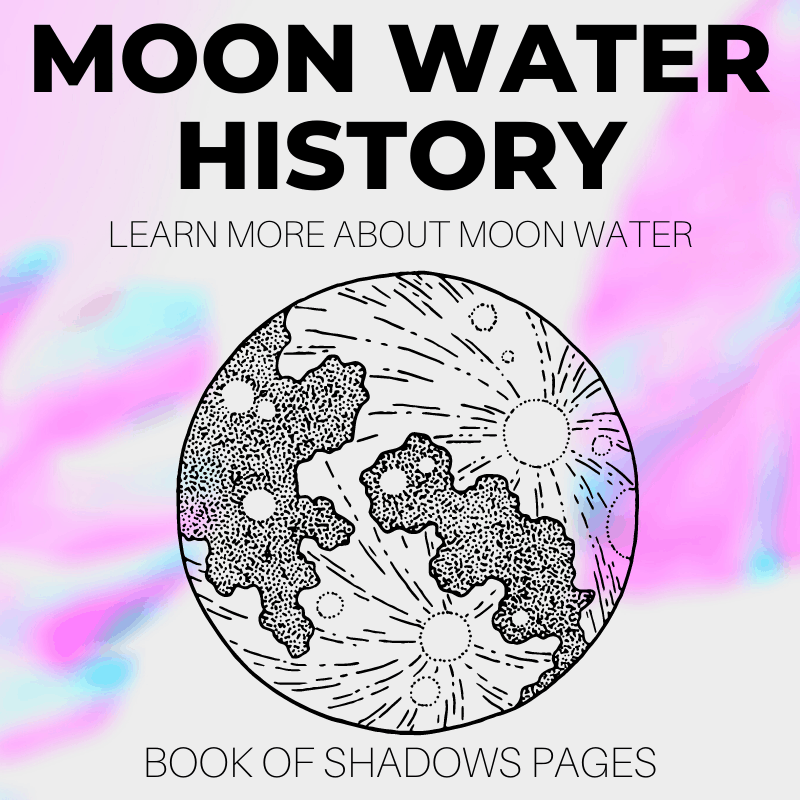 Moon Water: History, How To Make It, And Its Spiritual Uses