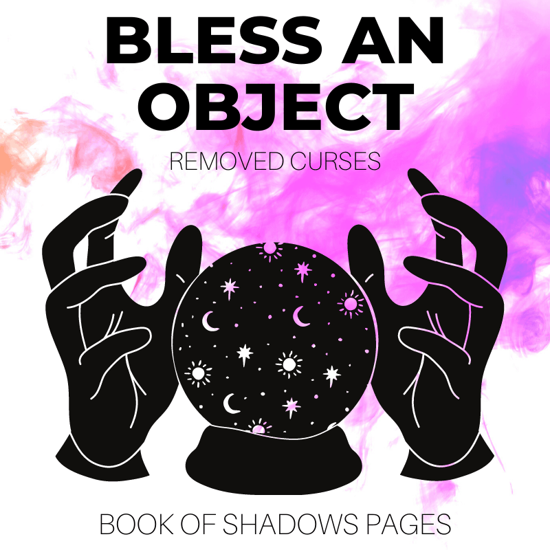 Bless An Object: 1 Powerful Blessing Spell For Witches