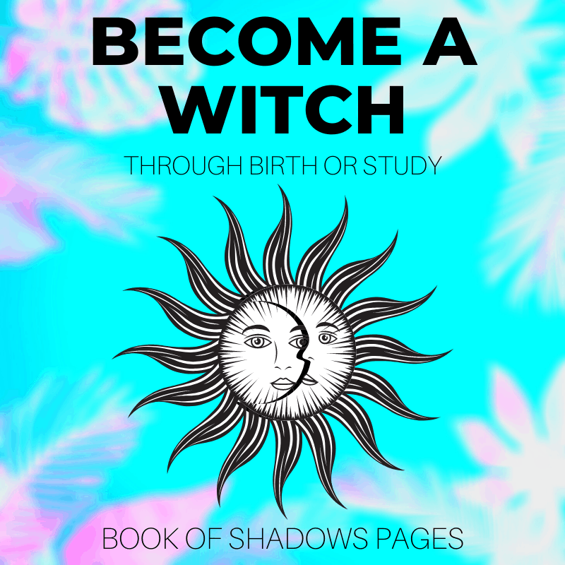 How To Become A Witch: Through Birth Or Intense Hard Work