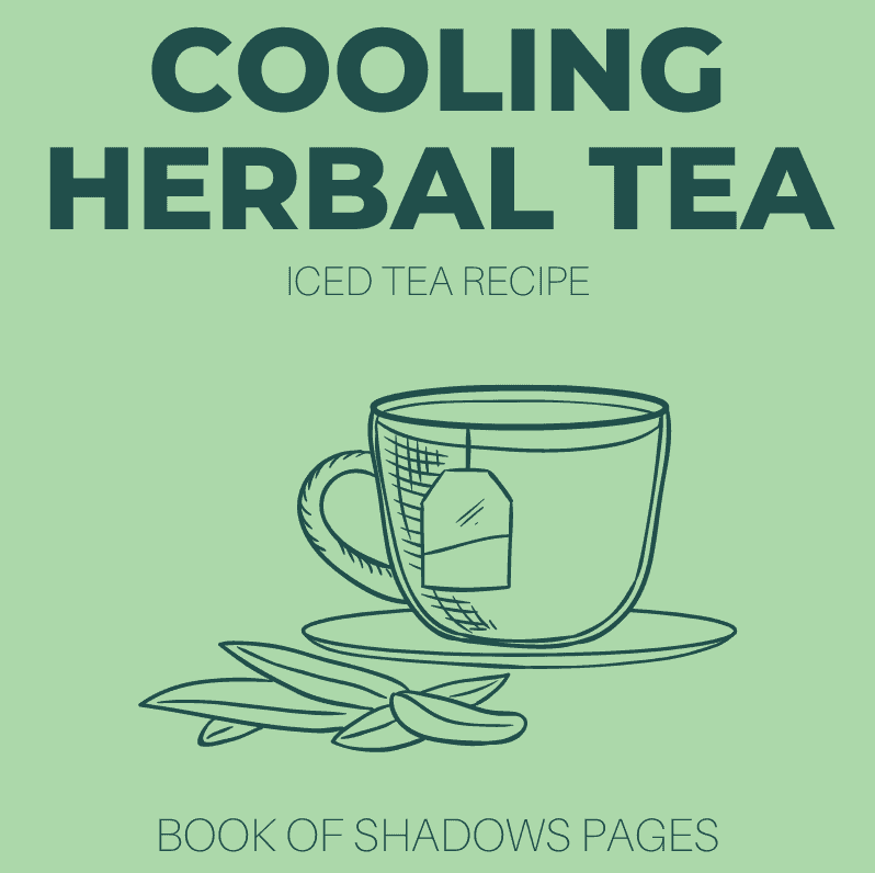 Cooling Herbal Iced Tea