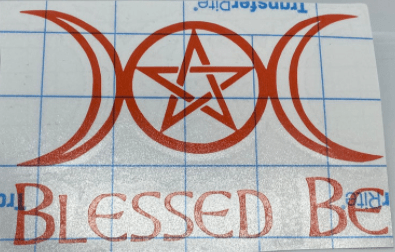 Blessed Be Pagan Wiccan Decal
