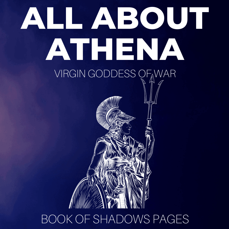 Athena: Virgin Greek Goddess Of War, Protection And Wisdom