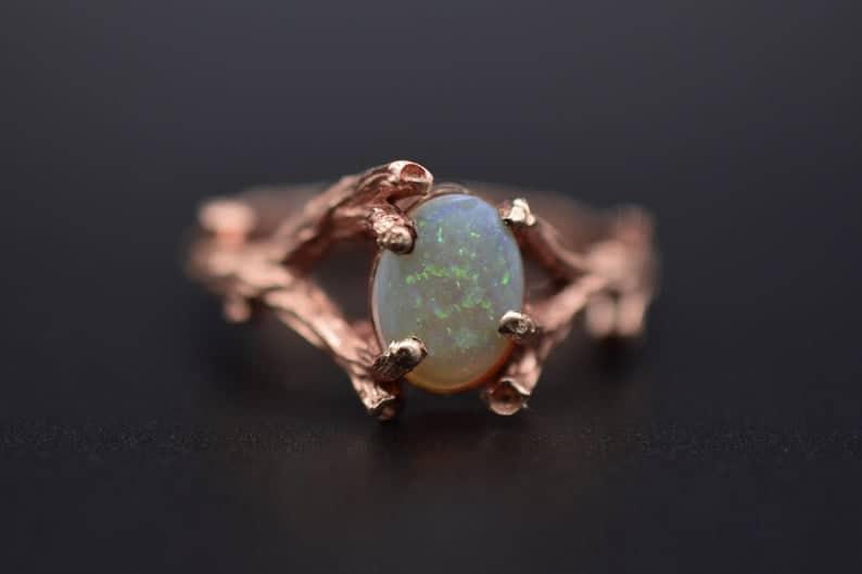 Opal Branch Ring