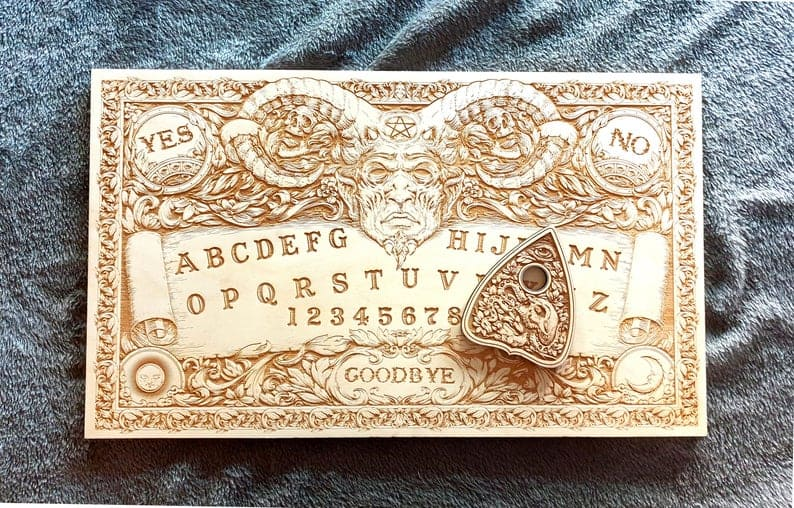 Laser Engraved Ouija Board