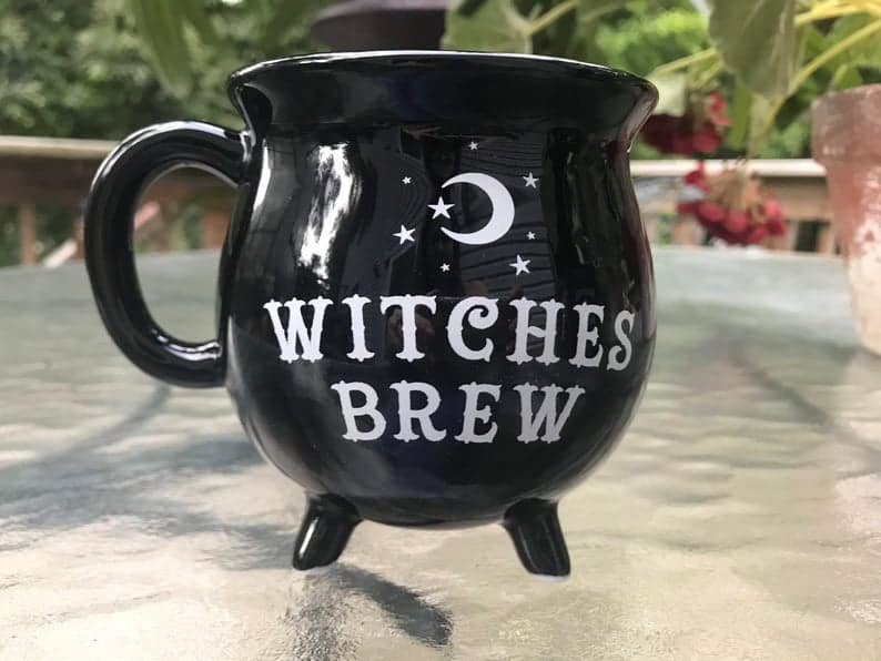 Witches Brew Cauldron Coffee or Tea Mug
