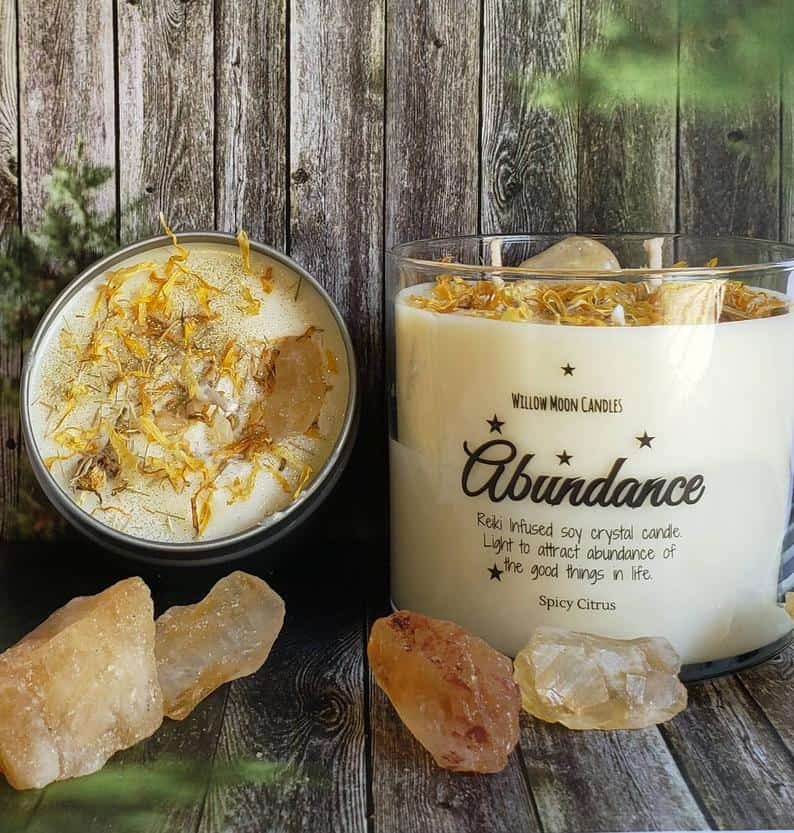 Abundance Spicy Citrus Soy Candle