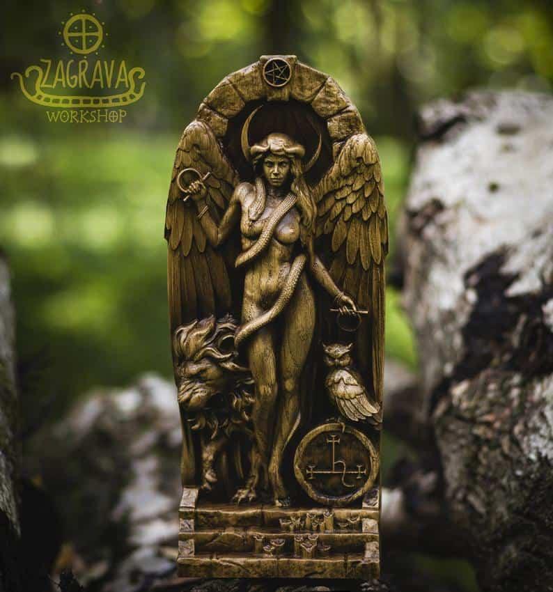Lilith Altar Statue