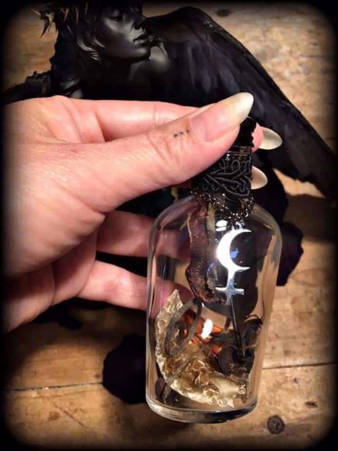Lilith Invoking Bottle