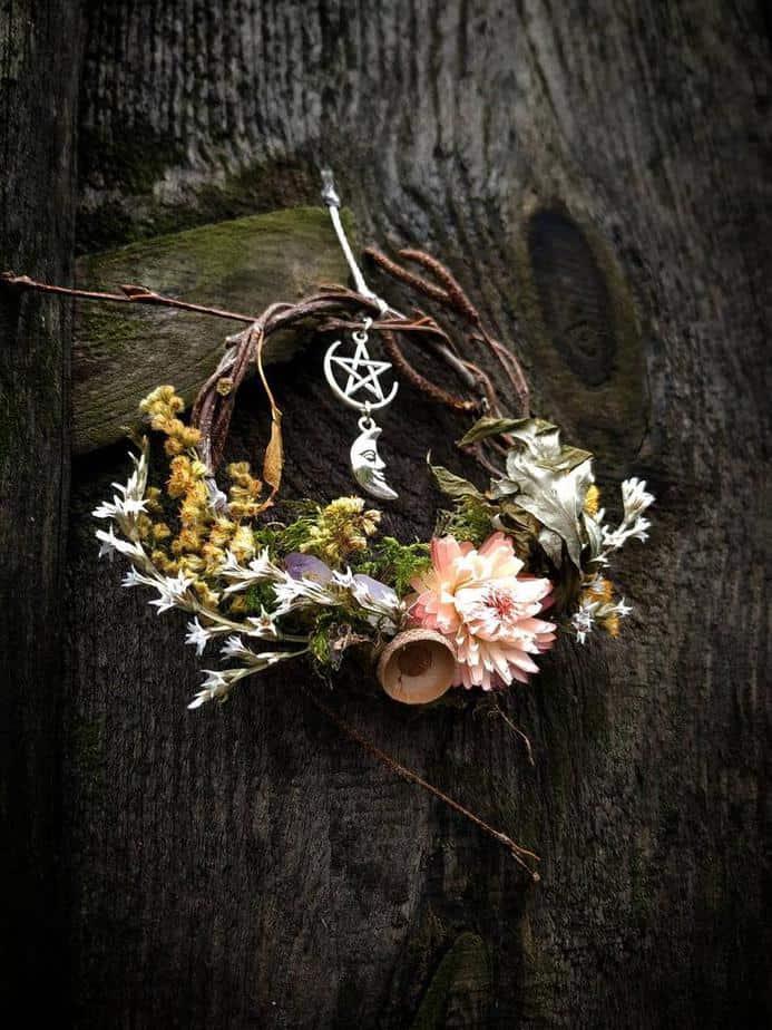 Mini Winter Solstice Wreath