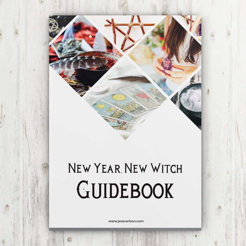 New Year New Witch - A Guidebook Workbook For Magick and Clarity in the New Year