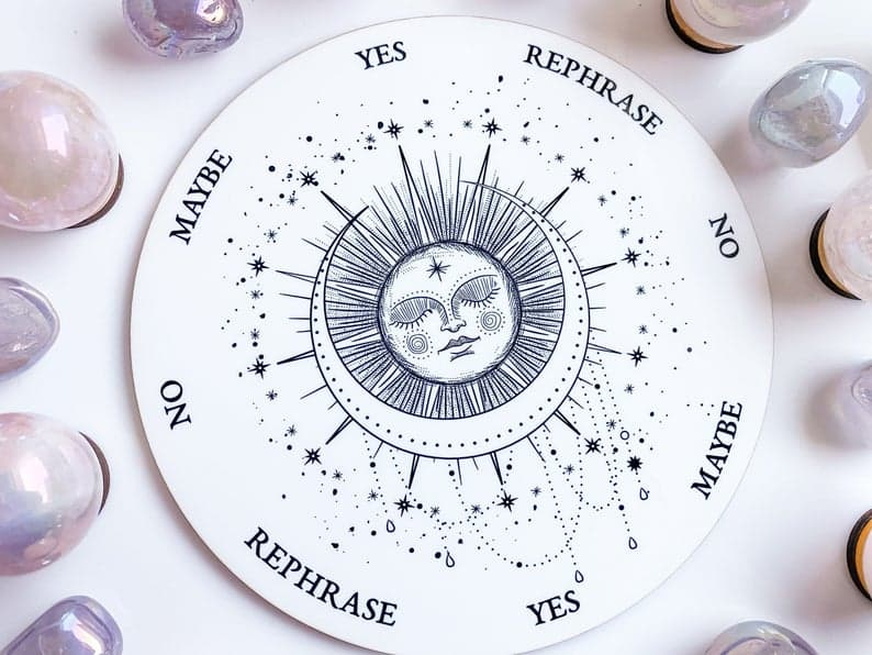 Pendulum Board - Sleeping Sun and Moon