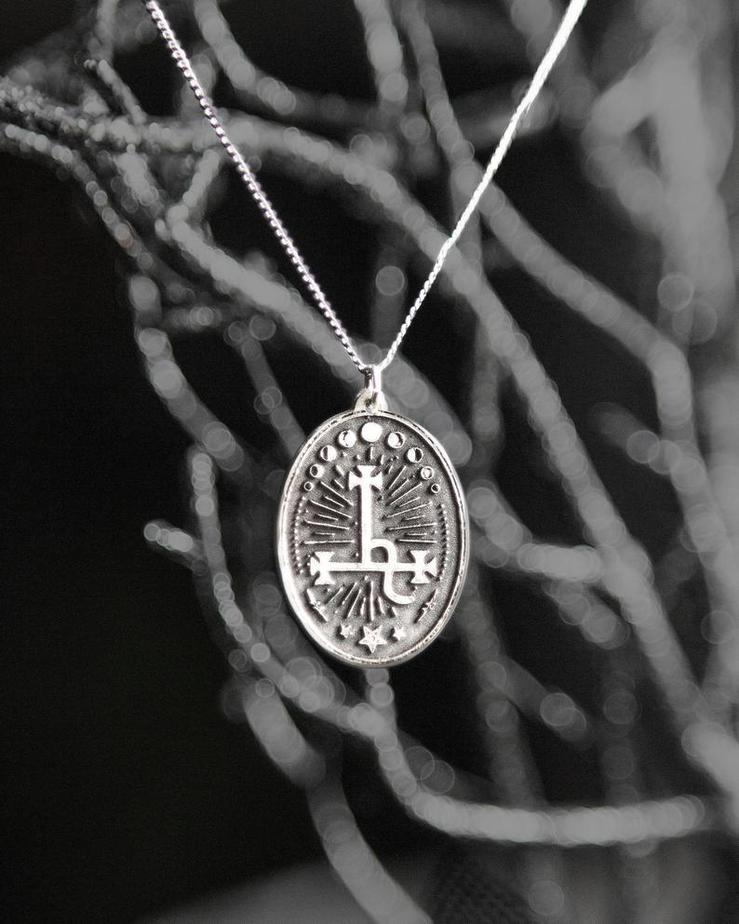 Sigil of Lilith Necklace