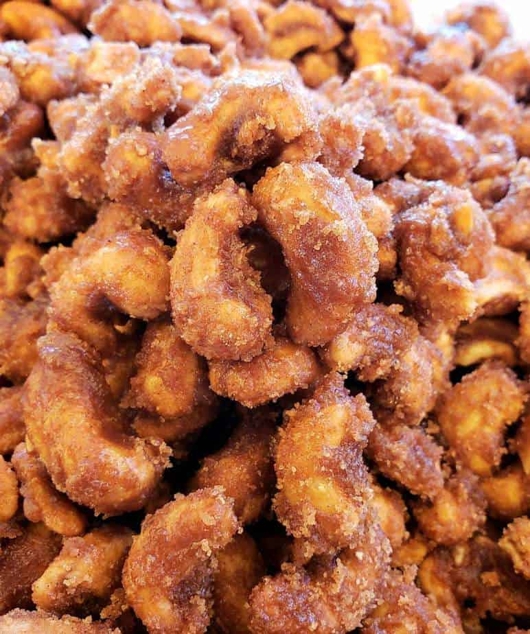 Sugar Cinnamon Cashews