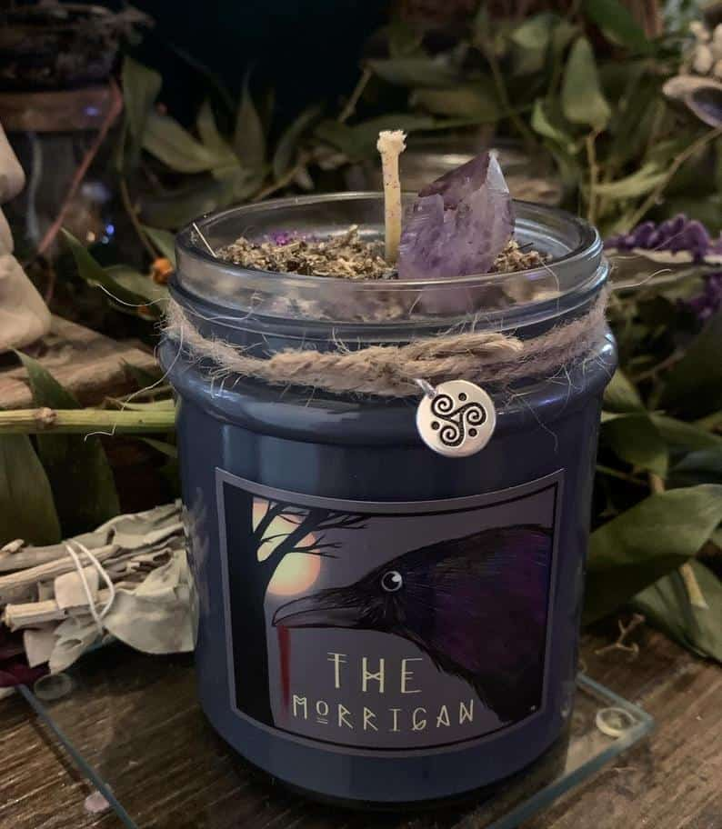 The Morrigan Ritual Candle
