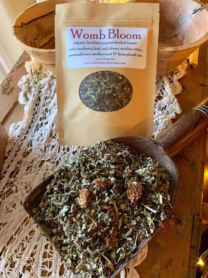 Womb Bloom Herbal Tea