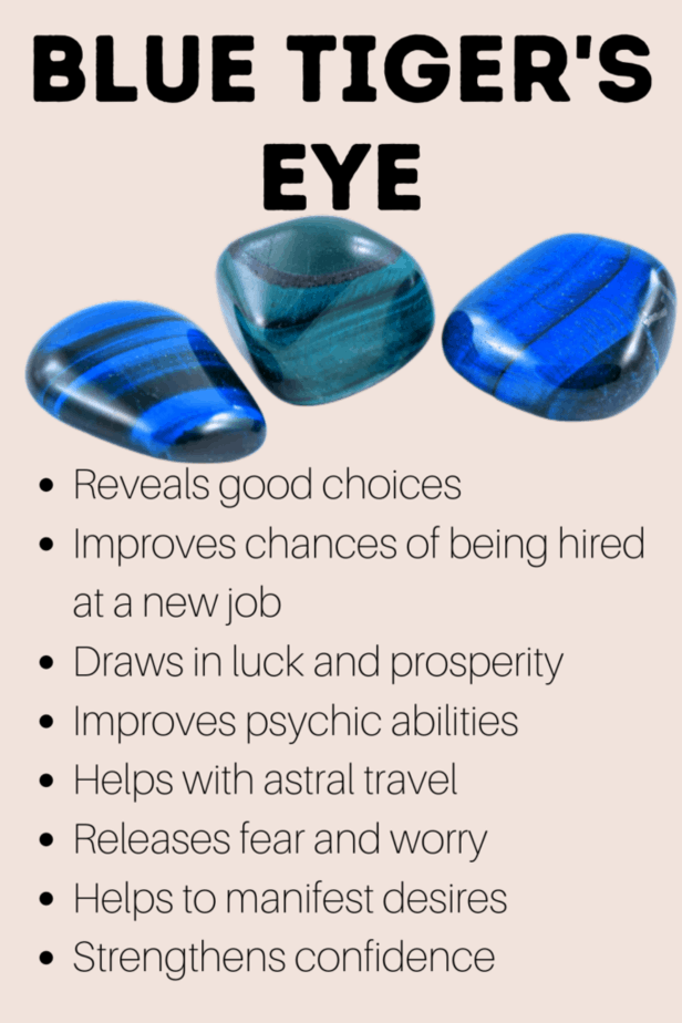 But tiger's eye metaphysical properties for magick and witchcraft