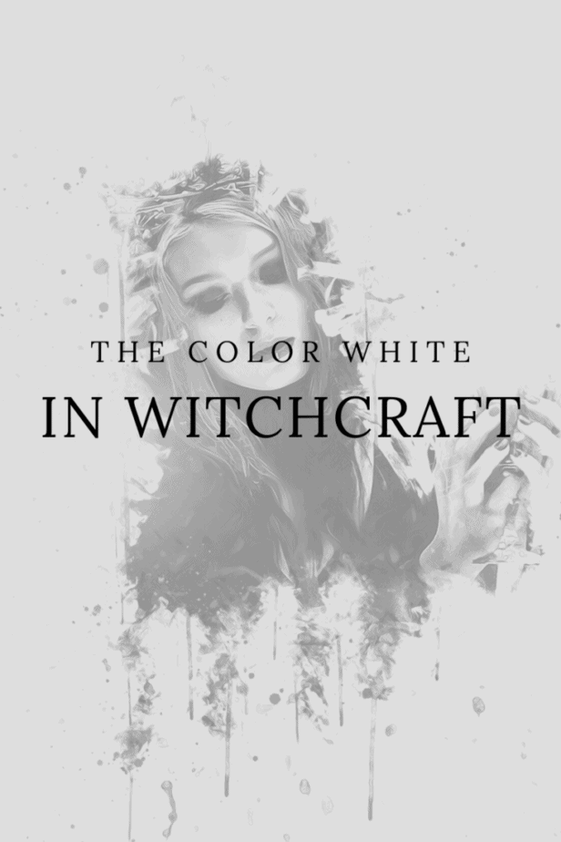 The color white in witchcraft. A witchy woman.