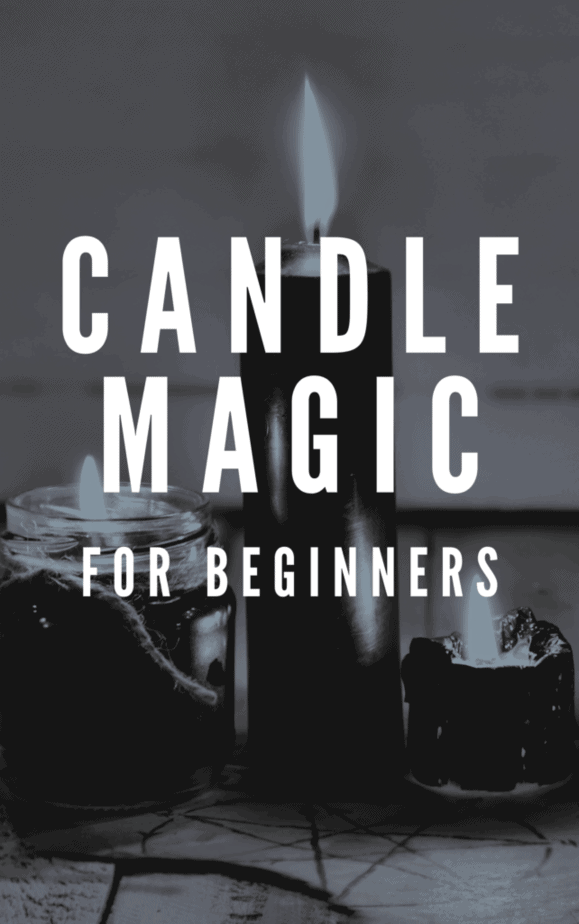 Candle magic for beginners. Black candles.