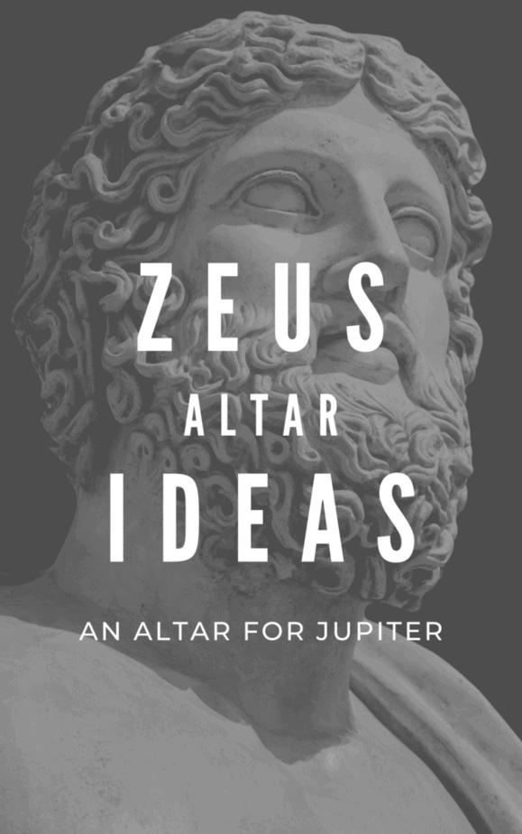Zeus altar ideas. An altar for the ancient Roman god Jupiter.