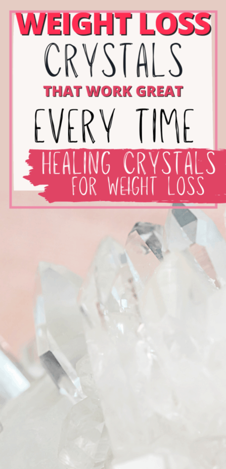 Weight loss crystals that work great every time. Healing crystals for weight loss. Clear quartz.