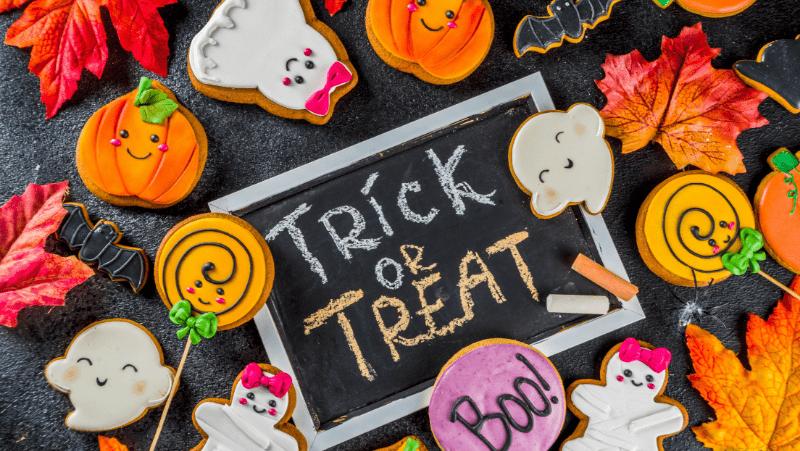 Trick or treat Halloween treats